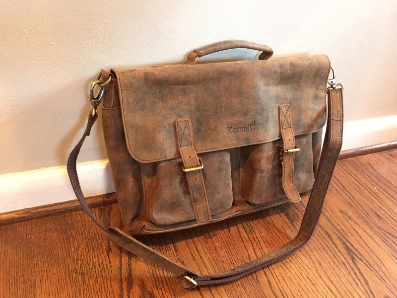 KomalC Messenger Bag Review